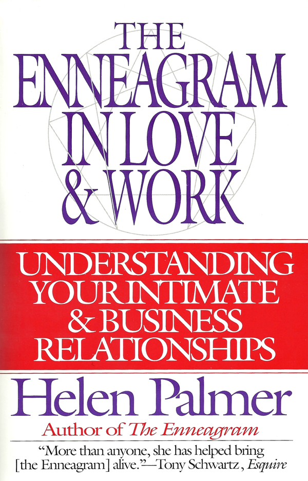 The Enneagram In Love & Work Book Cover